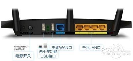 双频千兆无线路由器 TP-LINK TL-WDR4310