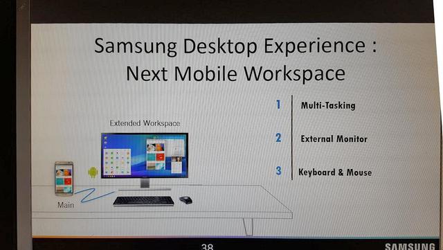 三星S8能够一秒变PC 但可惜没有8GB内存