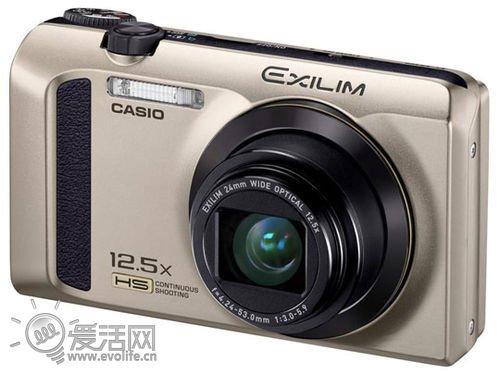 口袋长焦更新 卡西欧发布相机EX-ZR300