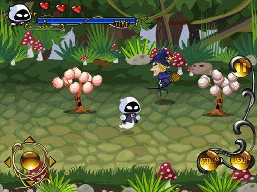 iPad动作游戏 幽灵宝宝2:瑟西的诅咒