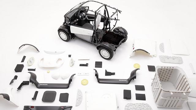 3D打印技术也能制作电动汽车 关键是成本低