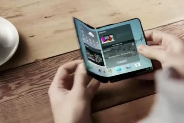 三星明年或推可折叠手机Galaxy X 主打柔性屏