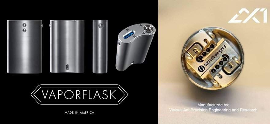Vapor Flask DNA40 2.1S调压盒+Sectoronevapors滴油雾化器