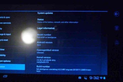 戴尔Streak 7平板可运行Android 4.0