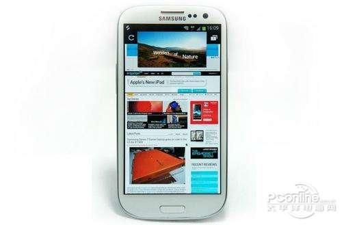 四核最强旗舰 三星Galaxy S3售3550元