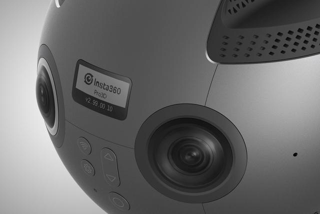 Insta360 Pro 8K全景摄像头亮相CES 一股专业范儿
