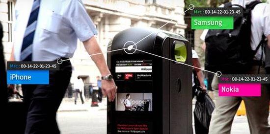 英国启用智能垃圾桶 靠近就能知道你用啥手机