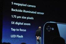 iPhone 4升级至500万像素