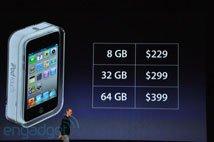 乔布斯公布各版本touch价格