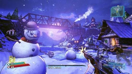 它关于圣诞节习俗的恶搞可以让玩家开怀大笑,不过游戏内容略显拼凑,与图片