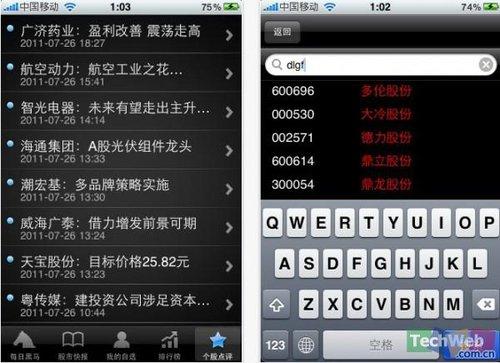 iPhone限时免费软件:股市黑马-专业版