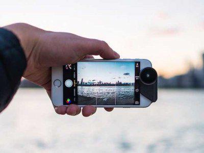 这款4合1外挂镜头可将手机变为专业相机
