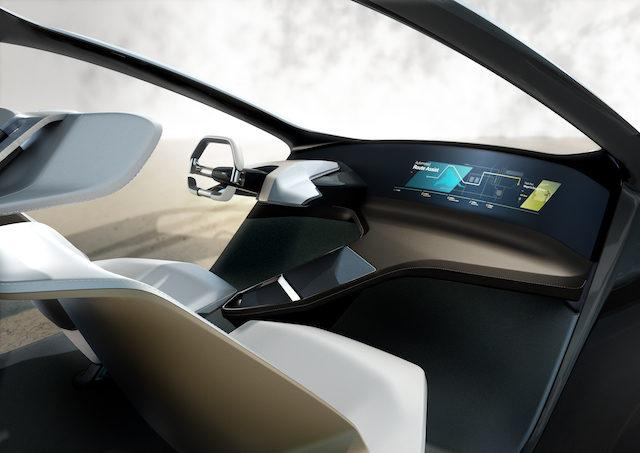 指尖上的宝马概念车 全系投影无需接触任何按钮