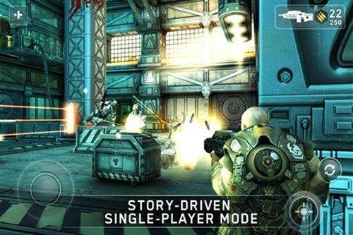 超级华丽FPS大作 Android游戏暗影之枪