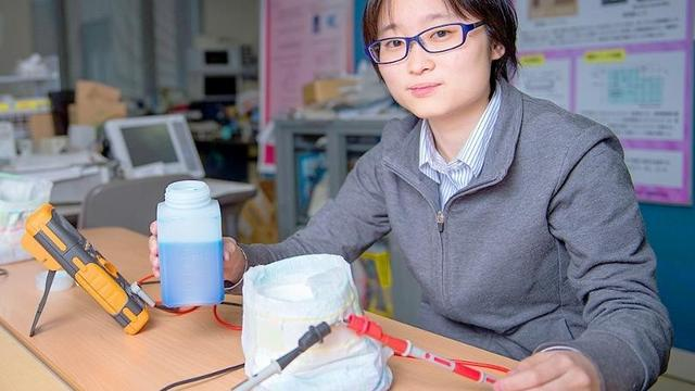 日本开发智能尿不湿 这……真不怕被电到吗?