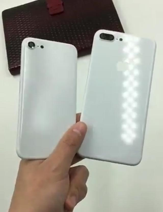 亮白配色iPhone 7现身?从后壳上看还挺漂亮