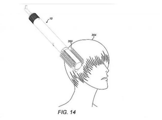 戴森梳子专利曝光 这吸尘器厂真是什么都做呀
