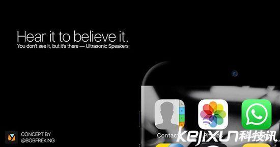 iPhone 7s概念机曝光:机身采用陶瓷材质?