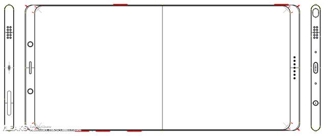 疑似三星Note 8设计图曝光  配6.4寸4K压感屏