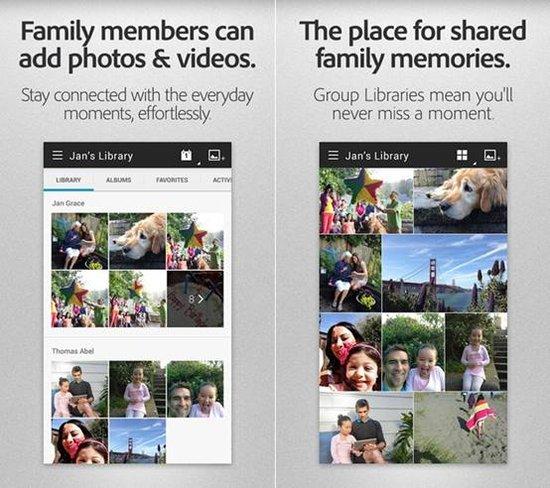 Adobe推出安卓版Revel应用方便用户管理照片
