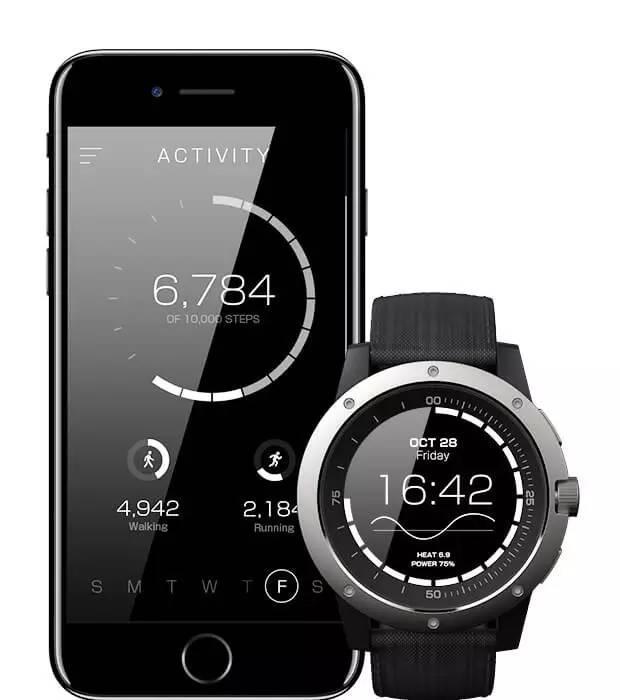 这款智能手表有点儿牛,直接用你的手腕来充电