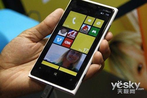 时尚绚丽HD屏幕 诺基亚Lumia 920降至3750元