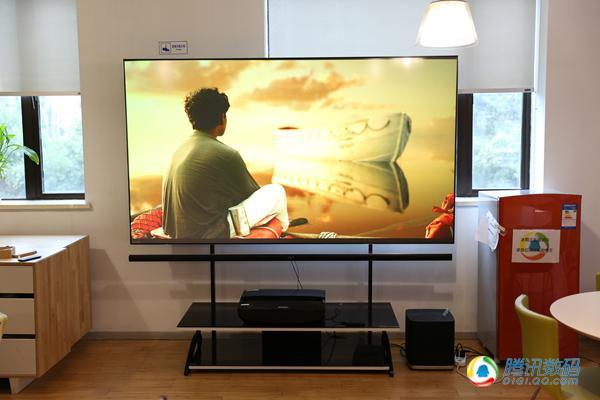 炫幕100寸激光电视上手体验 真有超广色域?