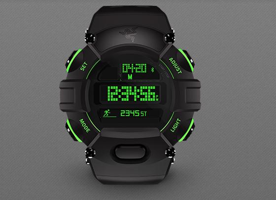 雷蛇发布首款智能手表 主打运动/健身功能