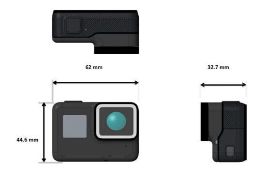 GoPro Hero5真机照曝光 自带防水功能可拍4K