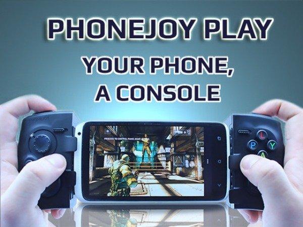 安卓手机游戏手柄推出 号称兼容任何手机