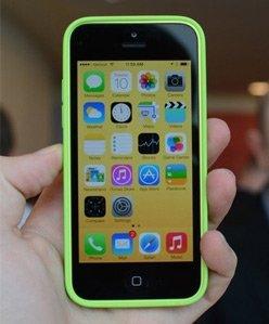 iPhone 5c真机组图