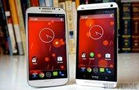 谷歌开售原生Android版HTC One和三星GALAXY S4