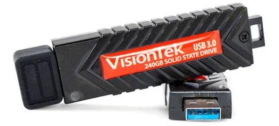 VisionTek发布仅U盘大小的便携式固态硬盘