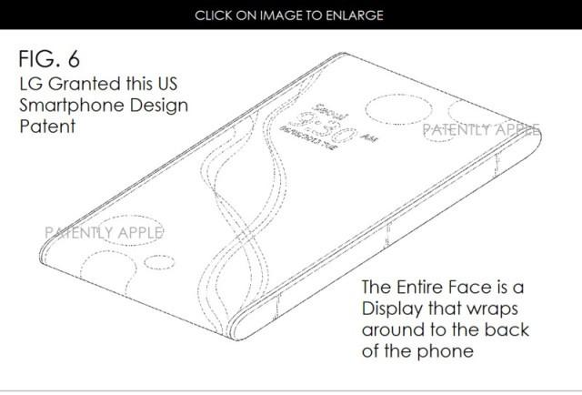 LG考虑生产无边框手机 导航键在顶部或底部