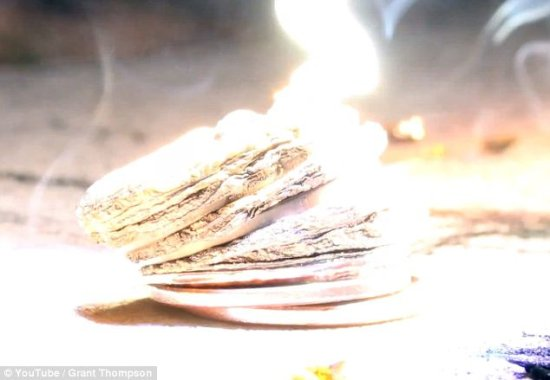 達人將背投電視改裝成死亡發射器可融化金屬硬幣