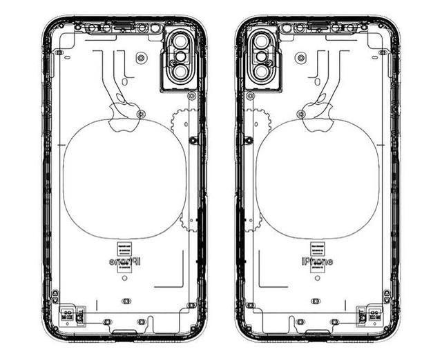 疑似iPhone 8官方工程图曝光 坐实无线充电功能