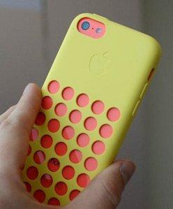 iPhone 5c古怪的保护套配件