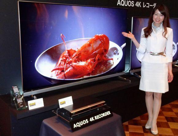 夏普推出4K电视录像机 售价约7375元下月上市