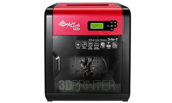 来看这支持3D扫描的3D打印机 时尚易用质量好