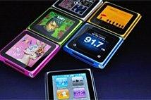 苹果发布第六代iPod nano