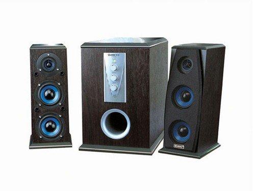 全木质箱体结构 慧海d-8200音箱简评