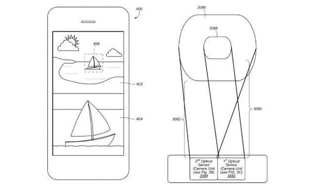 苹果新专利曝光:iPhone 7或将使用双摄像头