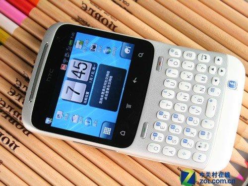 安卓社交神器 白色HTC Chacha图赏