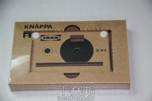 创意小玩意 宜家KNAPA纸片相机体验