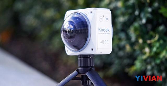 柯达发布4K 360度相机PixPro 4KVR360