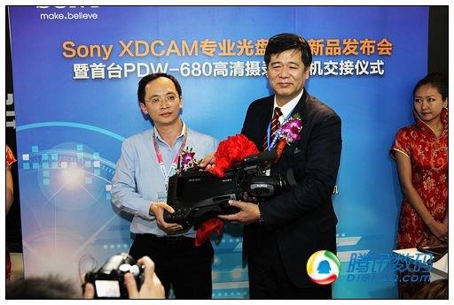 索尼发布XDCAM专业光盘家族摄录一体机