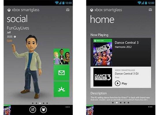 Xbox SmartGlass登陆安卓 可与Android设备互动