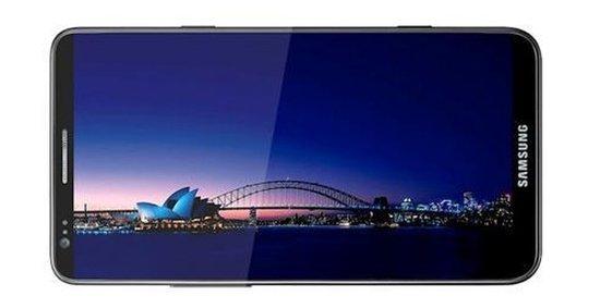 Galaxy Note 2疑似官方图泄露 配柔性屏