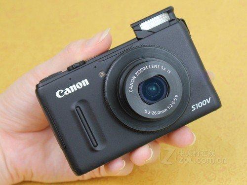 4日相机行情:佳能S100V送卡售2650元
