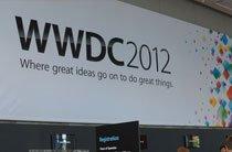 会场内的WWDC2012横幅